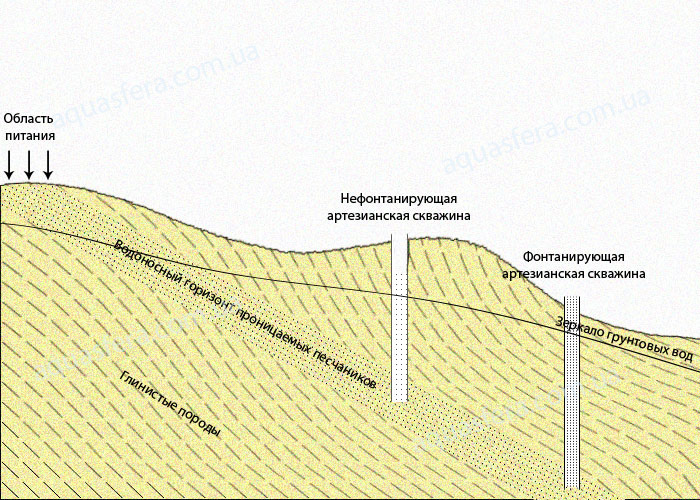 Водоносный горизонт в